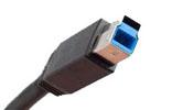 USB тип B (USB 3.0) - редкий гость