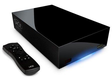 Медиалеер - позволяет смотреть видео и слушать музыку. Подключается к телевизору и имеет пульт. Но внутри тот же винчестер 3,5 дюйма