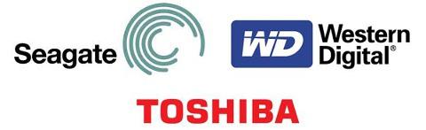 Seagate, Western Digital, Toshiba - все кто сумел выжить в тяжелой конкурентной борьбе