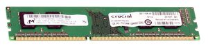 Crucial DDR3 1024 Mb PC-10660 1333MHz