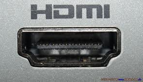 HDMI порт также передает и звук